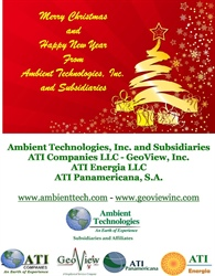 Merry Christmas from Ambient Technologies, Inc. & Subsidiaries - ATI Companies LLC and GeoView, Inc.